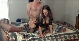 Hot Slut Kate Being fucked by her Hubby on Google Hangout