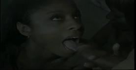 Two Ebony girls gets fucks by white cock