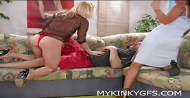 Amateur Threesome Action