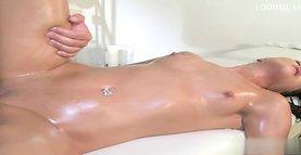 Hot gf brutal anal orgasm