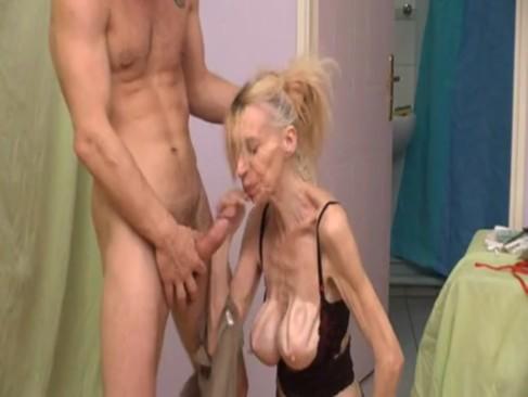 young couple pleasure mature