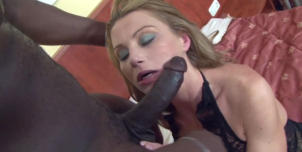First Black Cock Creampie