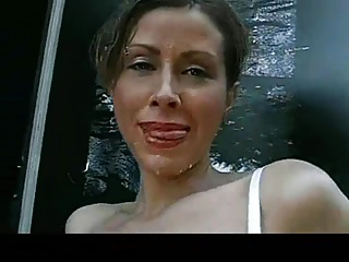 Spermafluten German bukkake,