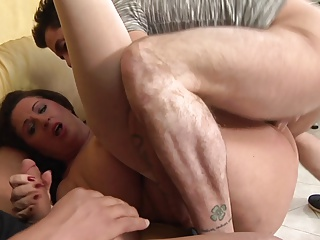 Mature bbw double penetration