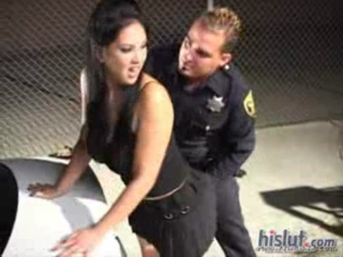 Female force fucked by cops