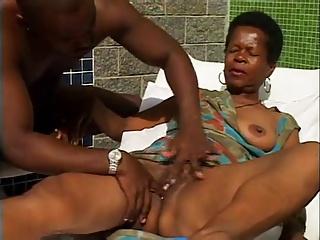 Pregrant woman having orgasm