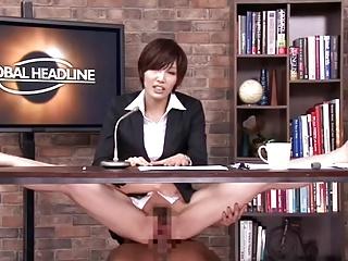 Порноролик японская телеведущая — 9