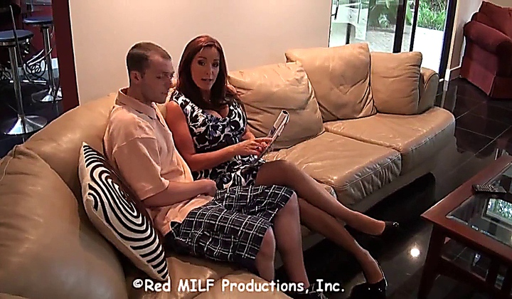 Rachel Steele Fucks With Her Son Because Her Husband Does Not Want