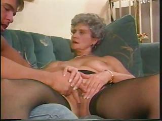 Granny shows all xxx