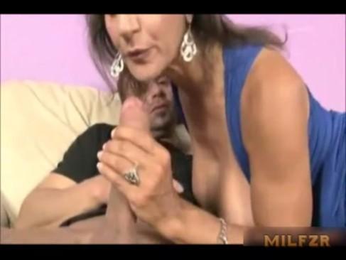 Jerking Off Mom Panties