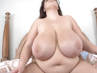 Huge fat white bbw tits