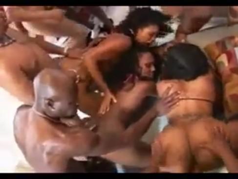 Largest black orgy