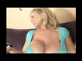 Blonde grannies with big tits