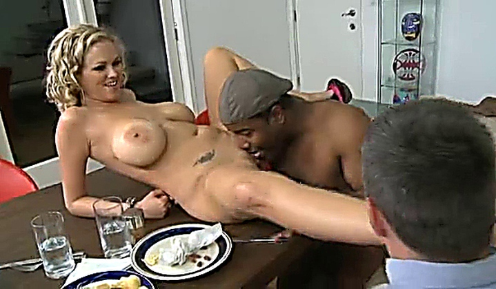 Fuck me in front of my husband