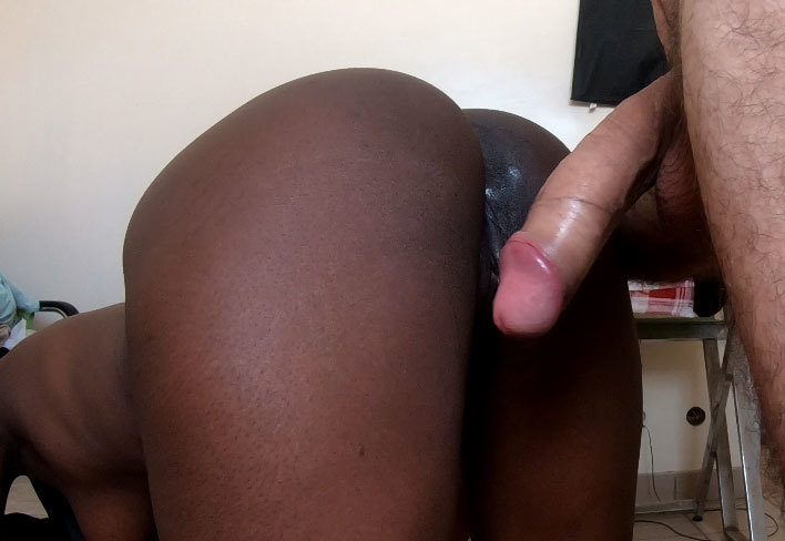 amateur black girl creampie