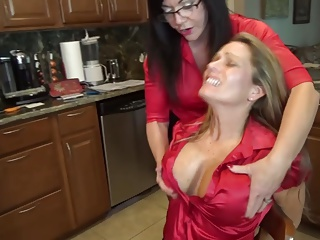 Milfs loves up tied patiently