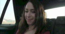 Shy Babe Loves Sex in A Car