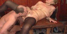 Granny bar sex