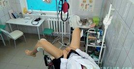 Nurse  on a gynecological