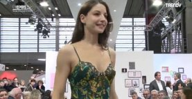 Very sexy lingerie parade