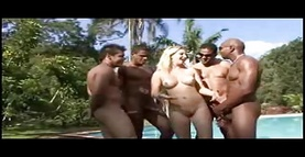 busty pronstar babe sucking huge dick through glory hole have not