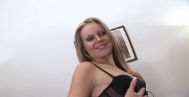 Blonde does anal