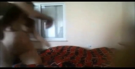 Wife anal with younger on hidden cam